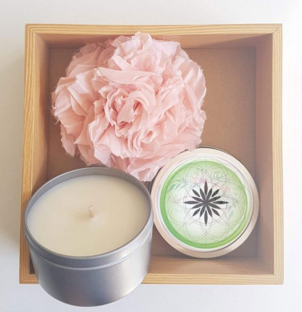 Vegan Soy Candle in a Box - Healing Vine